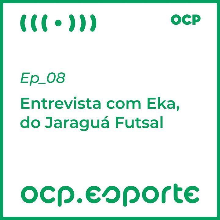 Entrevista com Eka, do Jaraguá Futsal