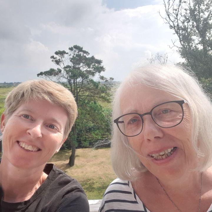 15. s. e. trinitatis. Ruth Huitfeldt Svendsen i samtale med Charlotte Locht