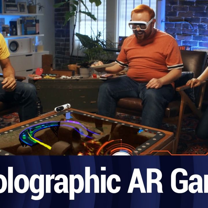 The Tech Behind Tilt Five's Holographic AR Gaming System   TWiT Bits