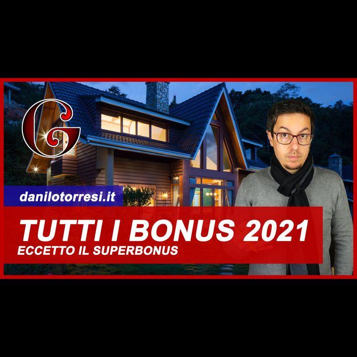 Tutti i Bonus del 2021 prorogati per la RISTRUTTURAZIONE della casa