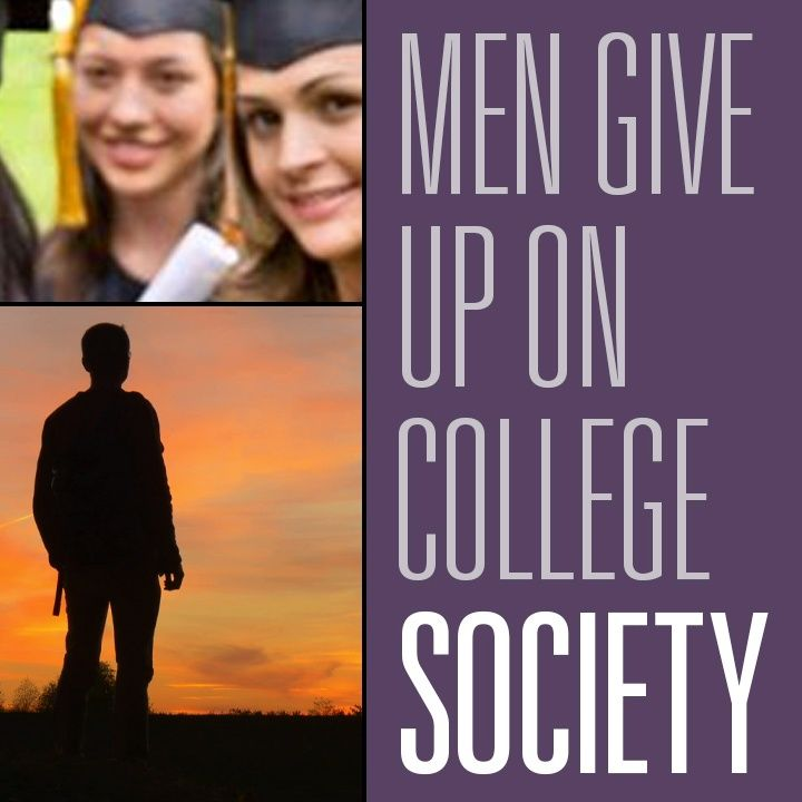 American Men Give Up On College While Afgani Women Get Gender Studies | HBR Society 1
