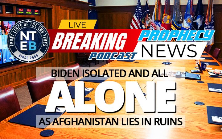 NTEB PROPHECY NEWS PODCAST: Horrific Scenes Of People Falling Out Of Airplanes As Biden's Order Plunges Afghanistan Into Utter Madness