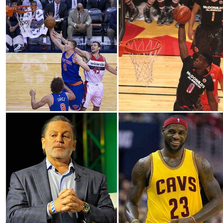 "EP 41: ""KP is KO'd! & the NBA Trade Deadline 2018 Bonanza!"" -Knicksfandom"