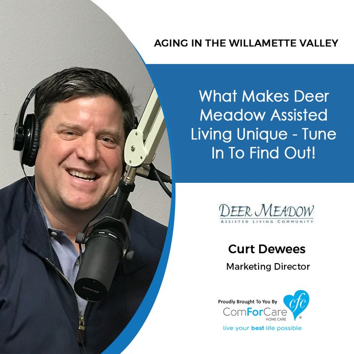 2/12/19: Curt Dewees with Deer Meadow Assisted Living   What Makes Deer Meadow Assisted Living unique? Tune in to find out!