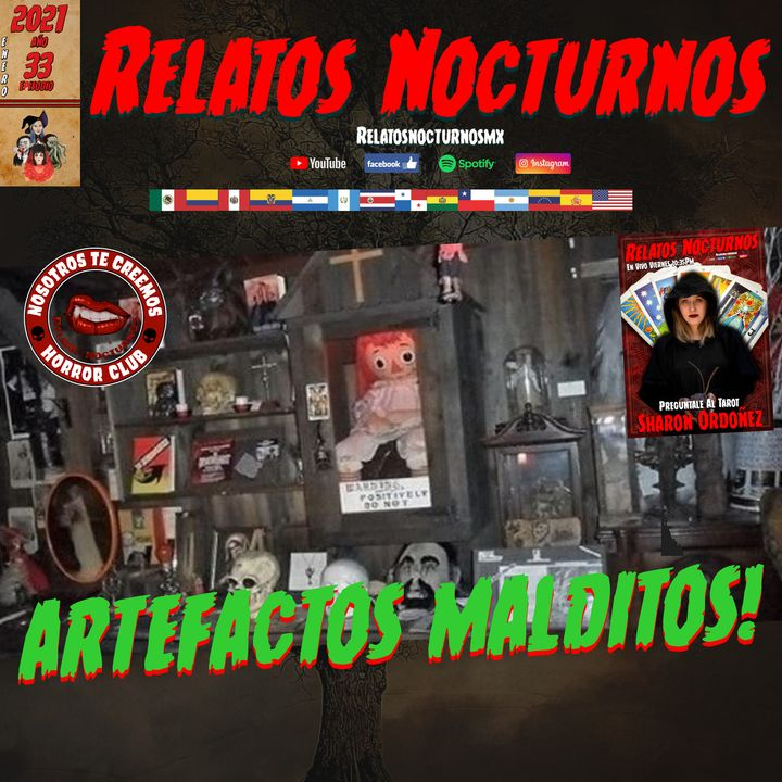 ARTEFACTOS MALDITOS // Relatos Nocturnos MX #paranormal #terror #fantasmas #ovnis