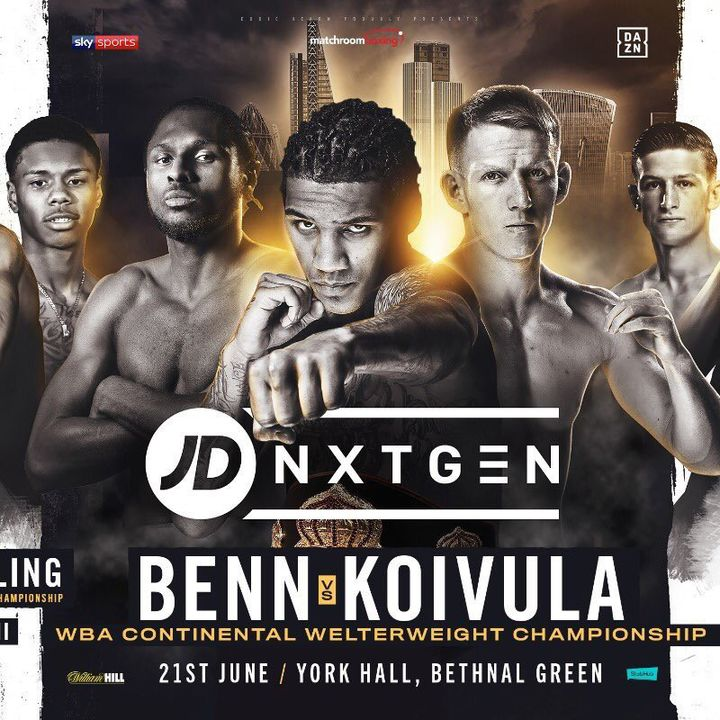 Preview Of The NexGen Card Headlined By Ted Cheeseman -Keiron Conway For The British Supermiddleweight Title!On Sky Sport's!At York Hall