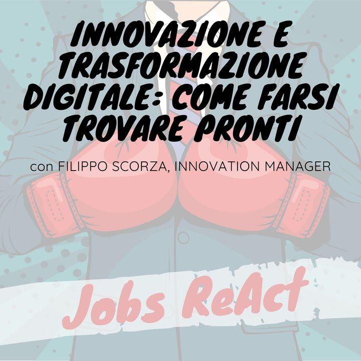 JR 38   Innovazione e trasformazione digitale: come farsi trovare pronti - con Filippo Scorza
