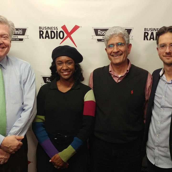 Alicia Butler Pierre with Equilibria and Evaz and Jalil Fanaian with Dark POS