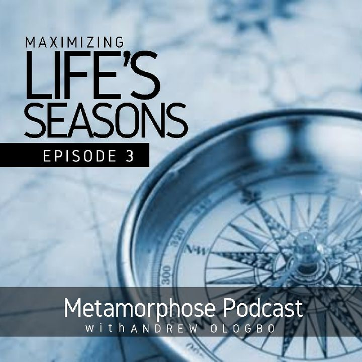 """Maximizing Life's Seasons - Episode 3"""