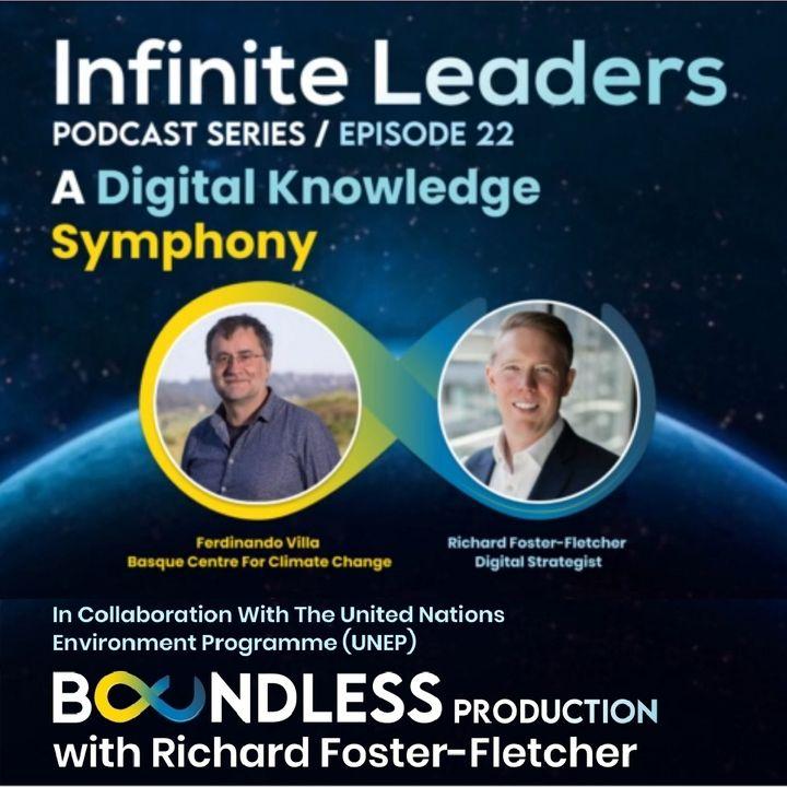 EP22 Infinite Leaders: Ferdinando Villa, Basque Centre for Climate Change: A Digital Knowledge Symphony