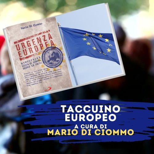 Taccuino Europeo di Mario Di Ciommo