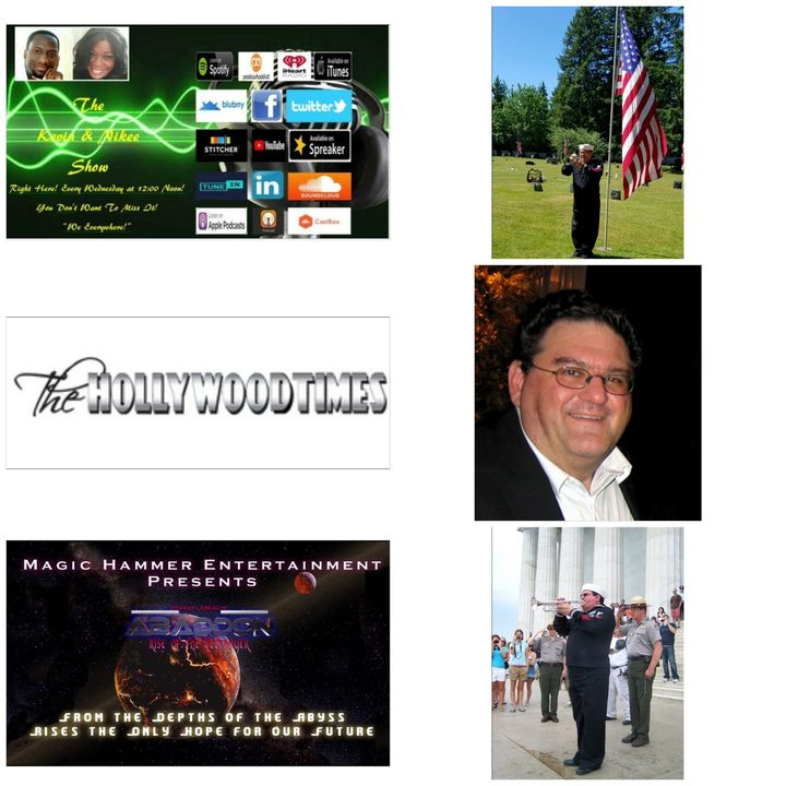 The Kevin & Nikee Show - Patrick Donovan- Author,  Screenwriter, Freelance Journalist for The Hollywood Times and US Navy Veteran
