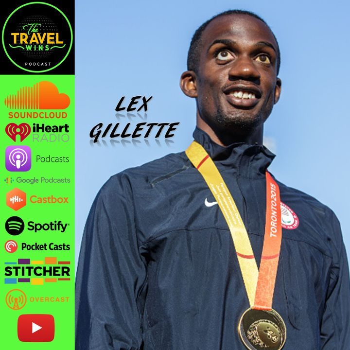 Lex Gillette   business travel takes on a whole new meaning when you can't see