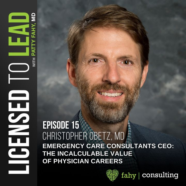 015 - Emergency Care Consultants CEO: The Incalculable Value of Physician Careers
