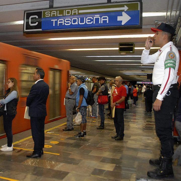 Disminuye la delincuencia en el Metro de la CDMX
