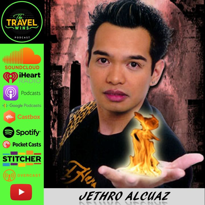Jethro Alcuaz | Pinoy sharing his magic while learning brazilian jiu jitsu