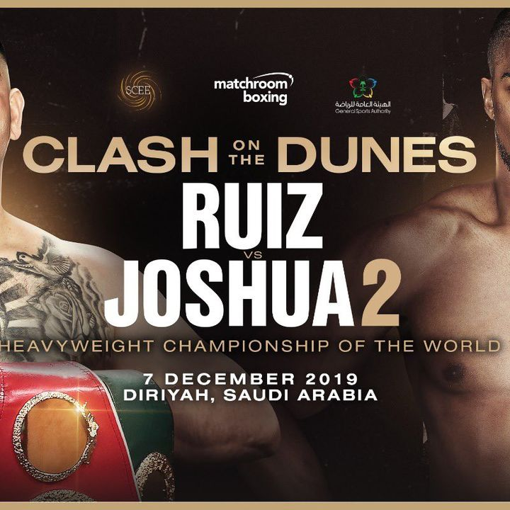 HUGE NEWS!! Andy Ruiz Jr - Anthony Joshua Rematch Is Confirmed For 7th December!! In Saudi Arabia!!On Box Office