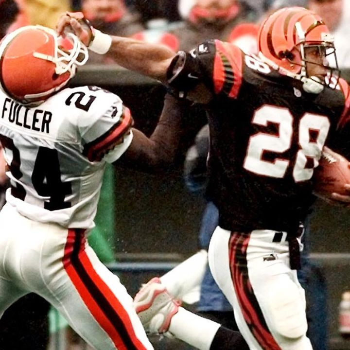 Who's the best running back in Bengals' history?