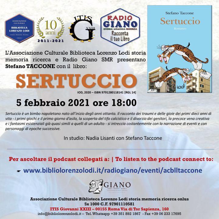 L'ACBLL presenta :  Nadia Lisanti dialoga con Stefano Taccone | Sertuccio