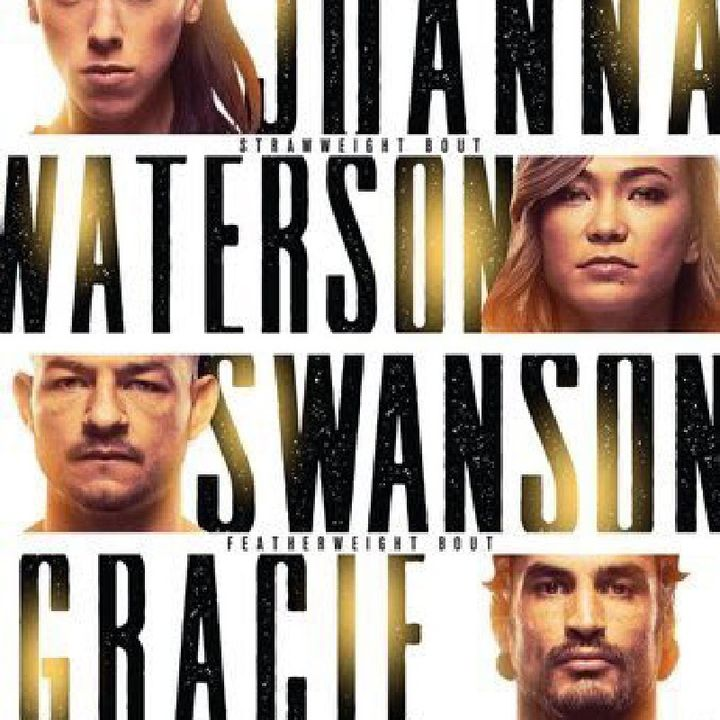 Preview Of The UFCONESPN Card Headlined By Ex Strawweight CHAMP Joanna Jedrzejczyk-Michelle Waterson In A Huge Title Contender Fight!!!!