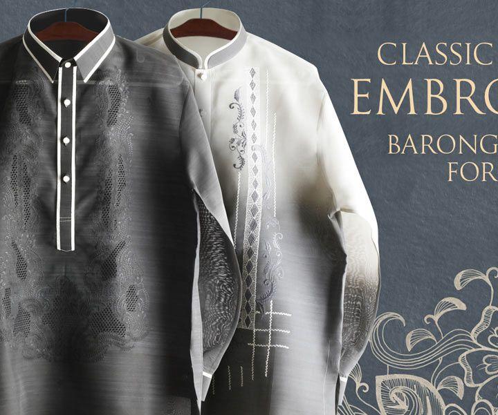 Buy Best Jusilyn Barong Taglong for Men at BarongRus