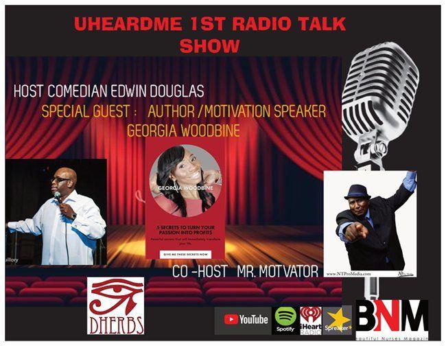 Uheardme1st RADIO TALK SHOW -AUTHOR GEORGIA WOODBINE