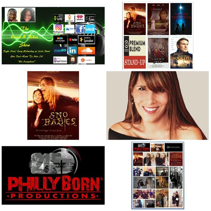 """The Kevin & Nikee Show  - Bridget Smith - Director and Editor of the Feature Film """"Sno Babies."""""""