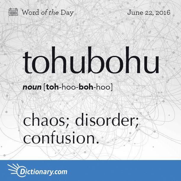 Episode 112 - Tohubohu