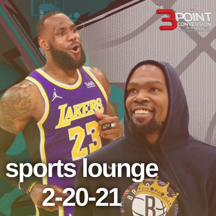 The 3 Point Conversion Sports Lounge - NBA Holding A Double Standard, NBA All-Star Snubs, College Football in The Spring, BattleGrounds