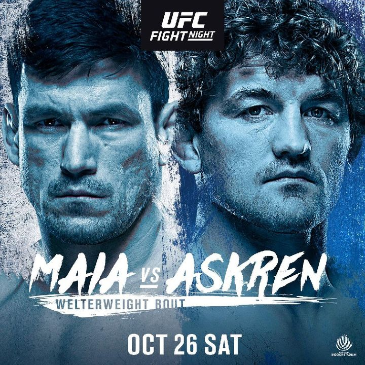 Preview Of The UFCONESPN Card In Singapore Headlined By Ben Askren-Damien Maia In the Welterweight Division Live On ESPN And BT Sport!!!