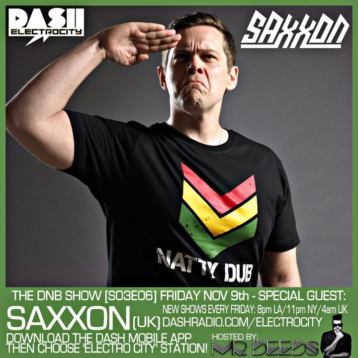 the DNB show S03E06 (guest mix Saxxon)