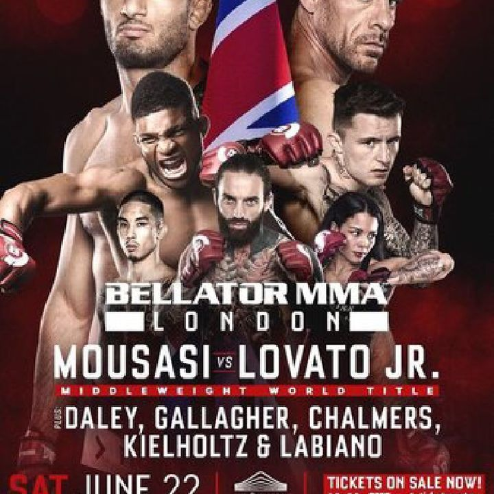 Preview Of Bellator 223 Card In By Gegard Mousasi - Rafael Lovato Jr For The Middleweight Title!Plus A Great Card!!