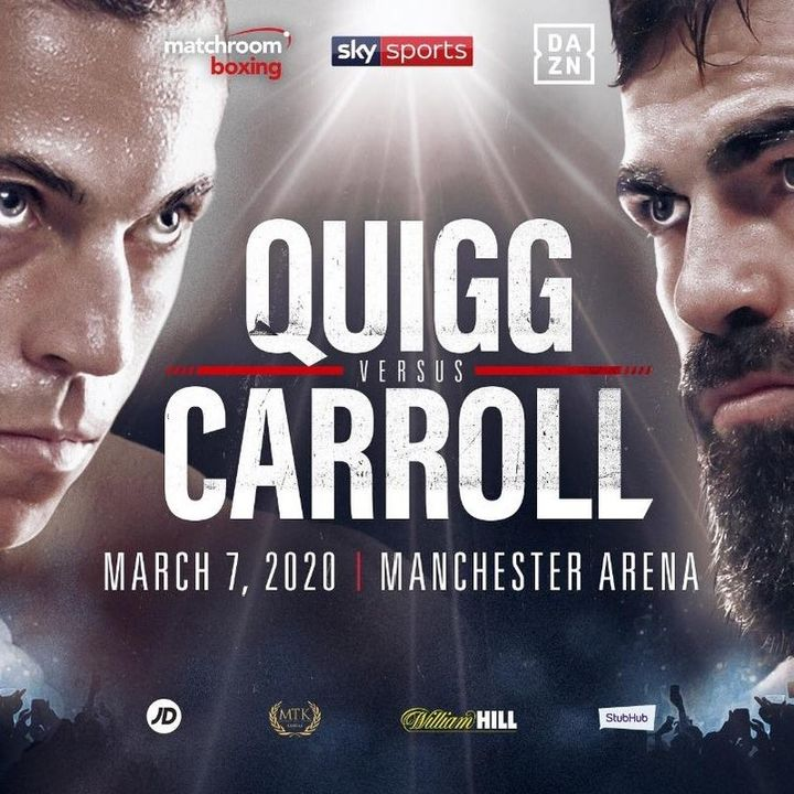 Preview Of Boxing Card Headlined By Scott Quigg Vs Jono Carroll In A Big Super Featherweight Fight Live On Sky Sports In Manchester UK