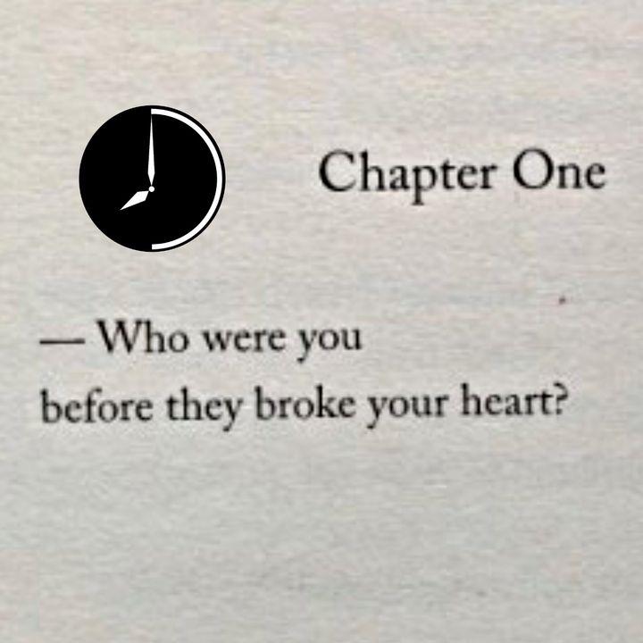 Dedicato a coloro che mi amavano e oggi non mi amano più