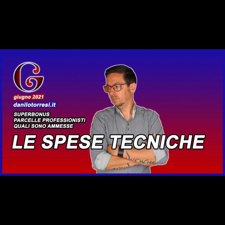 Le SPESE TECNICHE e di PROGETTAZIONE ammesse al Superbonus 110 - più altre