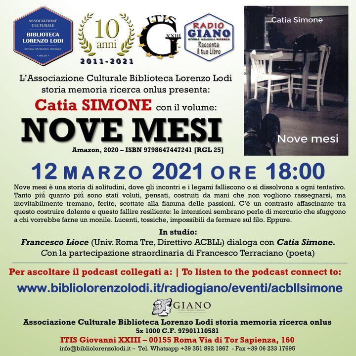 L'ACBLL presenta: Francesco Lioce dialoga con Catia Simone | Nove mesi