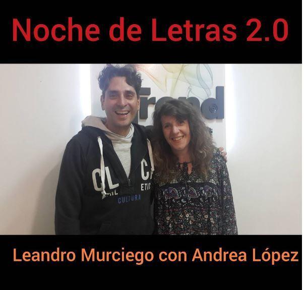Noche de letras 2.0 #78, con Andrea Lopez