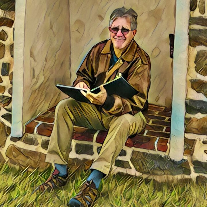 Combat Artist Chip Beck in Gettysburg - Big Blend Radio
