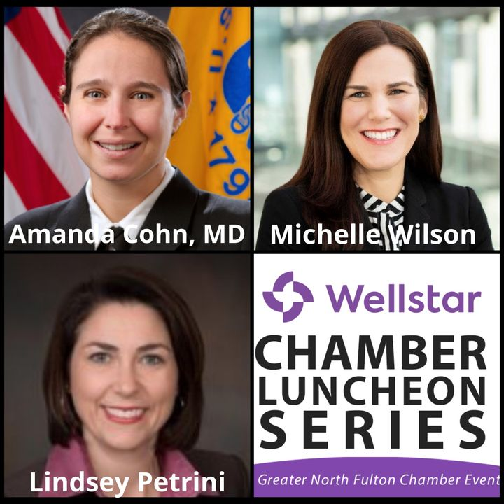 Wellstar Chamber Luncheon Series:  COVID-19 Vaccine Update from the Centers for Disease Control
