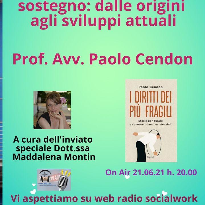 Paolo Cendon. Amministrazione di sostegno: dalle origini agli sviluppi attuali