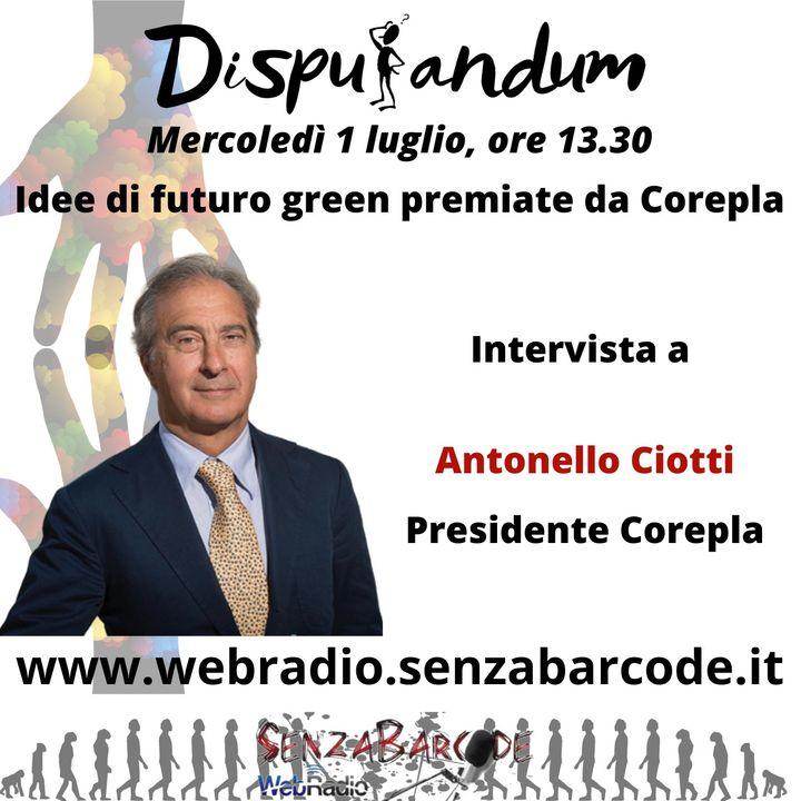Un futuro Green con Corepla, intervista al presidente Antonello Ciotti