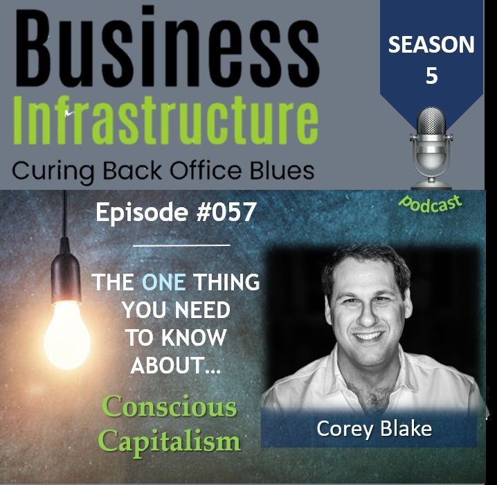 Episode 57: The One Thing You Need to Know About Conscious Capitalism   Corey Blake