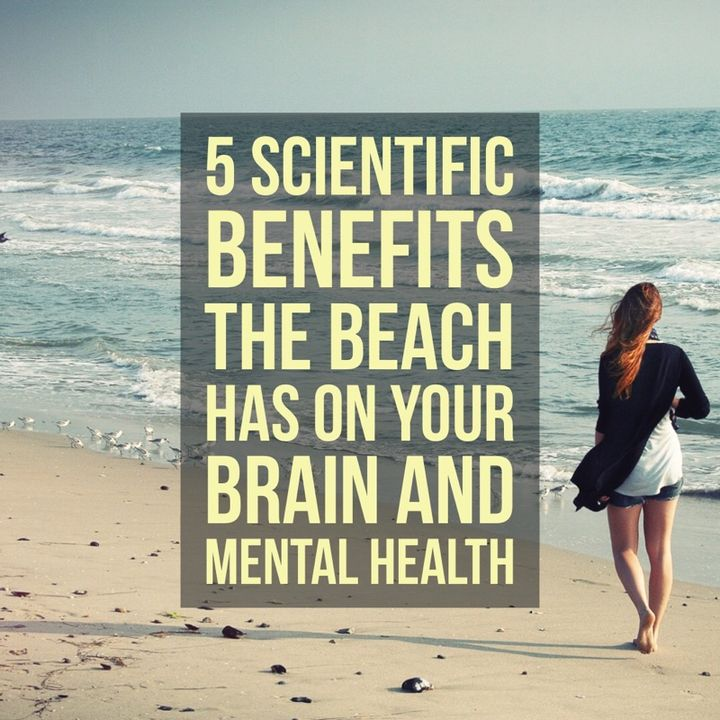 Five (5) scientific reasons the beach can Calm you and help you be more mentally fit.