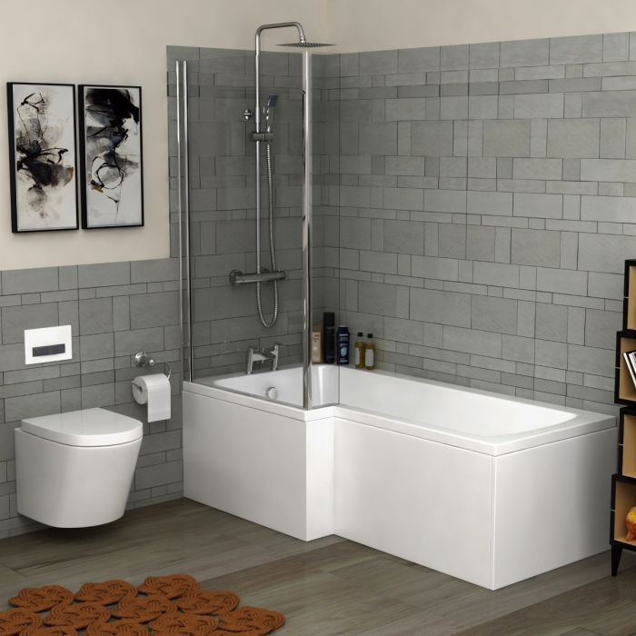 L Shaped Shower Bathtubs