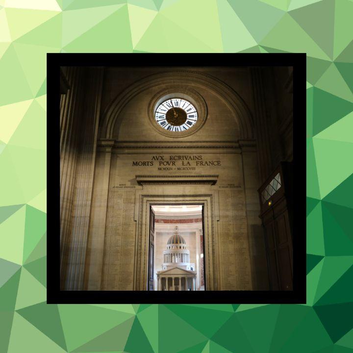 79 - La guerrilla cultural y el reloj del Panteón de París