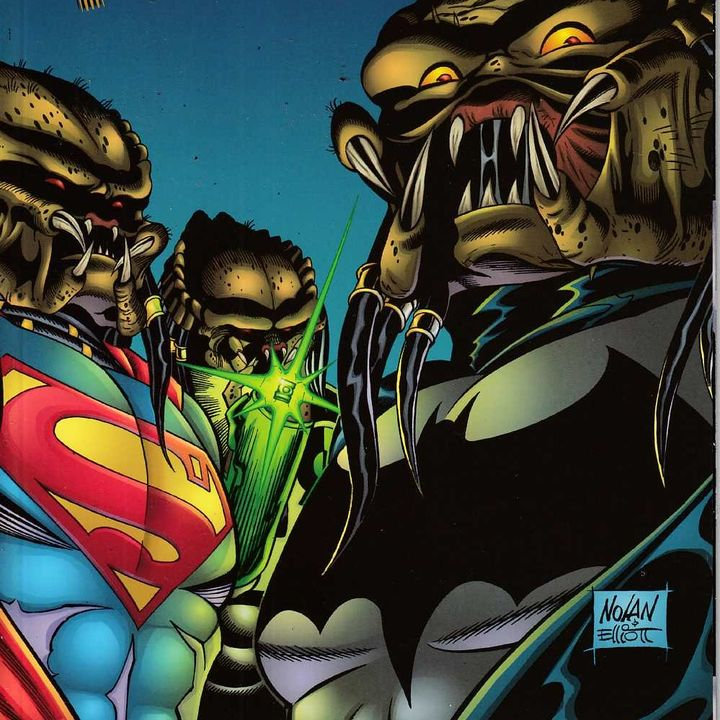 "Syndicated Source Material 008 - ""JLA vs. Predator"""
