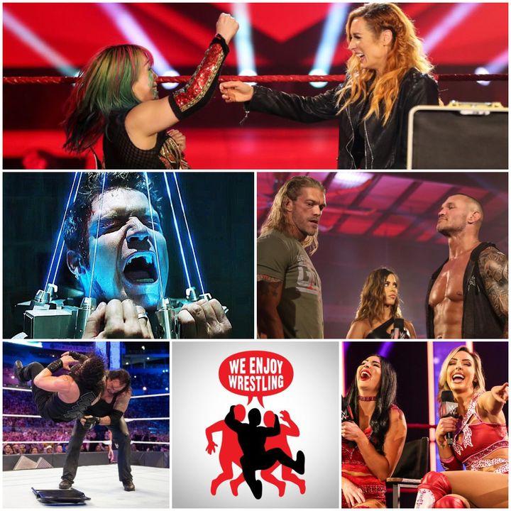 Ep 114 - You Were a Good Foot (Week in WWE + JIGSAW Recap)