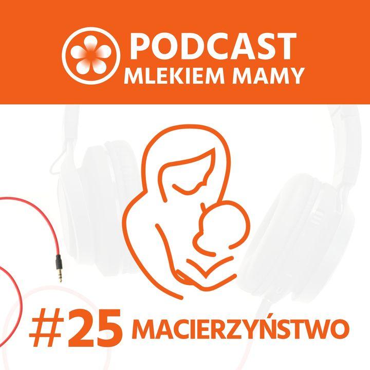Podcast Mlekiem Mamy #25 - Czwarty, piąty i szósty miesiąc życia dziecka
