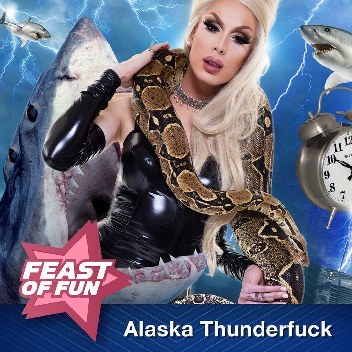 Alaska Thunderfuck Battles the Sharknado