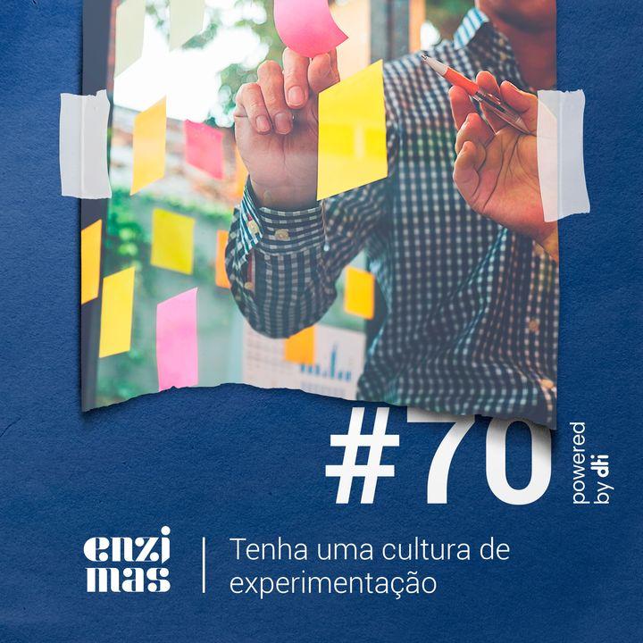 ENZIMAS #70 - Tenha uma cultura de experimentação